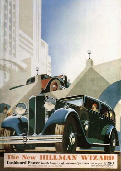Hillman Wizard 1932 | Vintage Cars 1891-1970