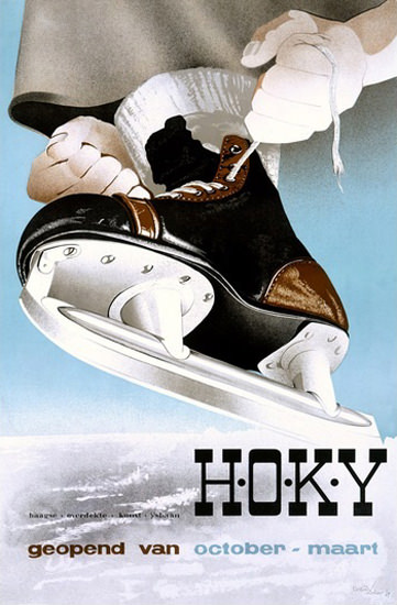 Hoky Skate Shoe | Vintage Ad and Cover Art 1891-1970