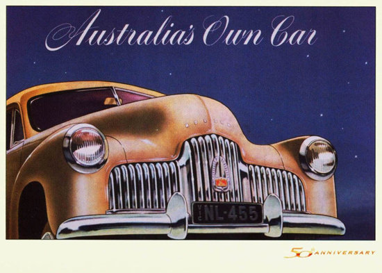 Holden 48-215 Australias Own Car 1948 | Vintage Cars 1891-1970