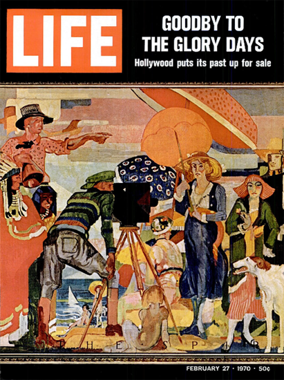 Hollywood puts its Past up for Sale 27 Feb 1970 Copyright Life Magazine | Life Magazine Color Photo Covers 1937-1970