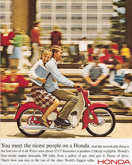 Honda 1963 High School | Sex Appeal Vintage Ads and Covers 1891-1970