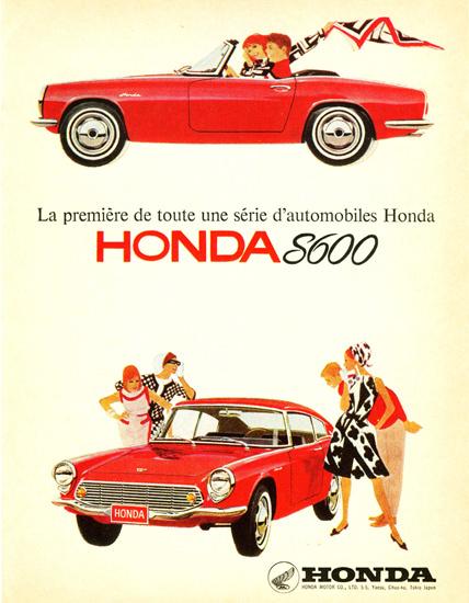 Honda S600 1966 | Vintage Cars 1891-1970