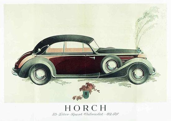 Horch 3-5 Liter Sport Cabriolet 82 PS 1937 | Vintage Cars 1891-1970
