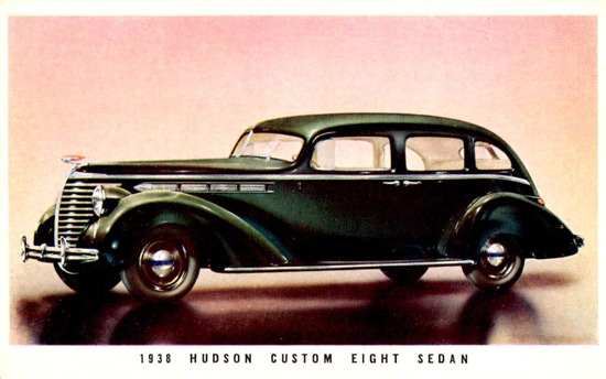 Hudson Custom Eight Sedan 1938 | Vintage Cars 1891-1970