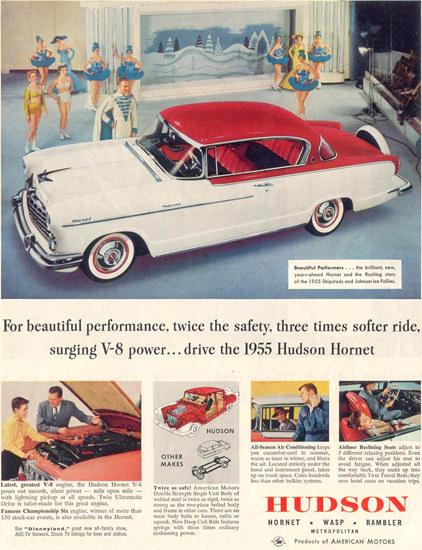 Hudson Hornet 1955 | Vintage Cars 1891-1970