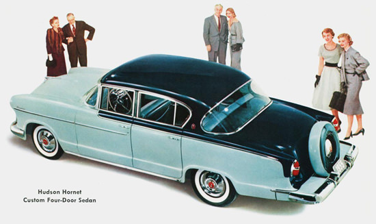 Hudson Hornet Custom Four Door Sedan 1955 | Vintage Cars 1891-1970