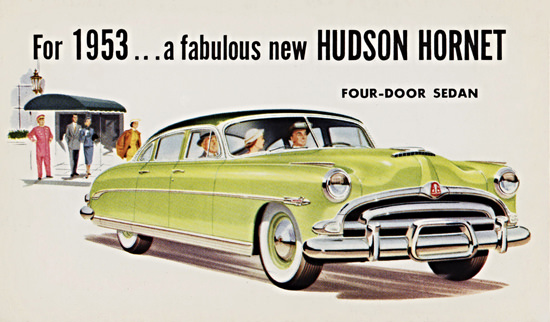 Hudson Hornet Sedan 1953 Fabulous New | Vintage Cars 1891-1970