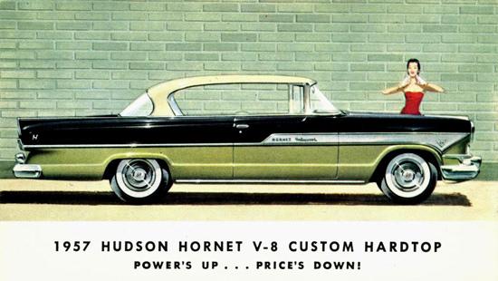 Hudson Hornet V8 Custom Hardtop 1957 | Vintage Cars 1891-1970