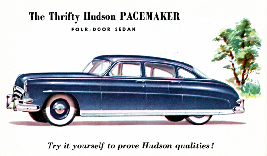 Hudson Pacemaker Sedan 1952 To Prove | Vintage Cars 1891-1970
