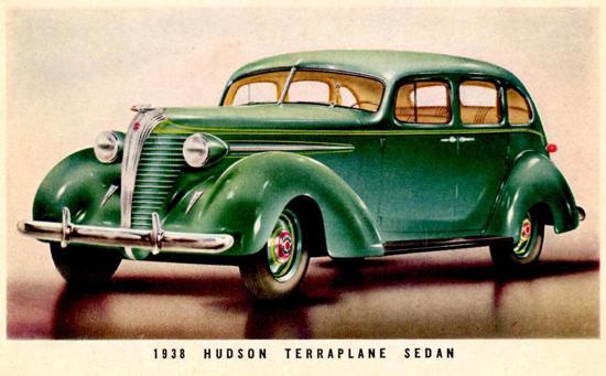 Hudson Terraplane Sedan 1938 | Vintage Cars 1891-1970