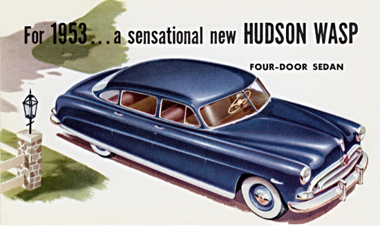 Hudson Wasp Sedan 1953 Sensational New | Vintage Cars 1891-1970