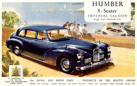 Humber Imperial Saloon 1951 | Vintage Cars 1891-1970