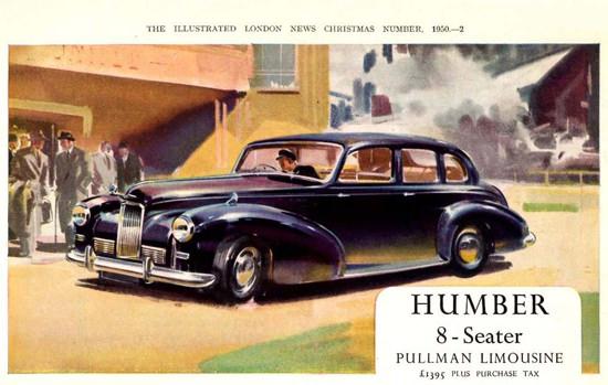 Humber Pullman Limousine 1951 | Vintage Cars 1891-1970