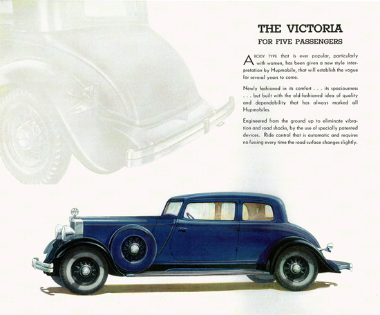 Hupmobile 226 Victoria 1932 No Fussing | Vintage Cars 1891-1970