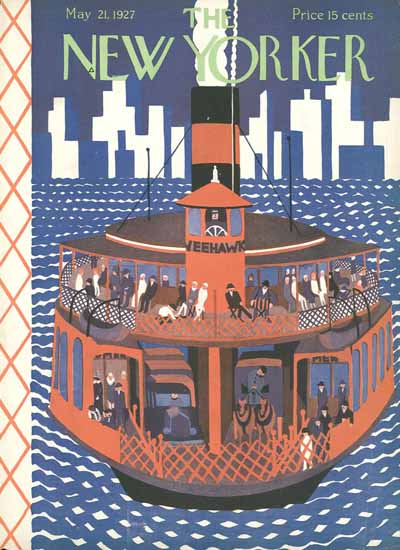 Ilonka Karasz The New Yorker 1927_05_21 Copyright   The New Yorker Graphic Art Covers 1925-1945