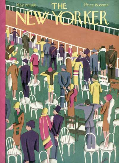 Ilonka Karasz The New Yorker 1928_05_19 Copyright | The New Yorker Graphic Art Covers 1925-1945