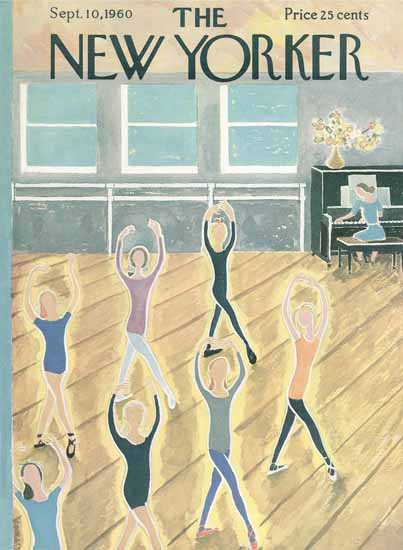 Ilonka Karasz The New Yorker 1960_09_10 Copyright | The New Yorker Graphic Art Covers 1946-1970