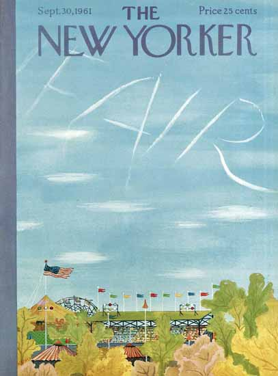 Ilonka Karasz The New Yorker 1961_09_30 Copyright | The New Yorker Graphic Art Covers 1946-1970