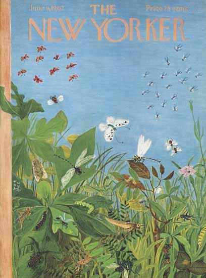 Ilonka Karasz The New Yorker 1962_06_09 Copyright | The New Yorker Graphic Art Covers 1946-1970