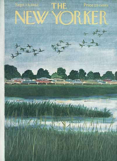 Ilonka Karasz The New Yorker 1962_09_15 Copyright | The New Yorker Graphic Art Covers 1946-1970