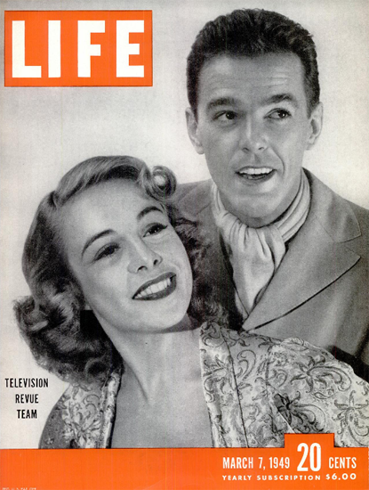 Imogene Coca Loren Welch 7 Mar 1949 Copyright Life Magazine | Life Magazine BW Photo Covers 1936-1970