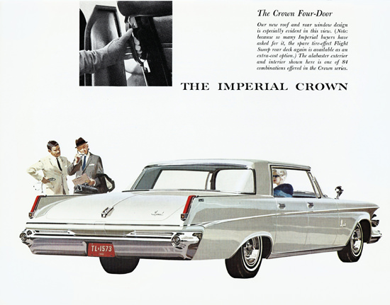Imperial Crown 1963 Spare Tire Effect | Vintage Cars 1891-1970