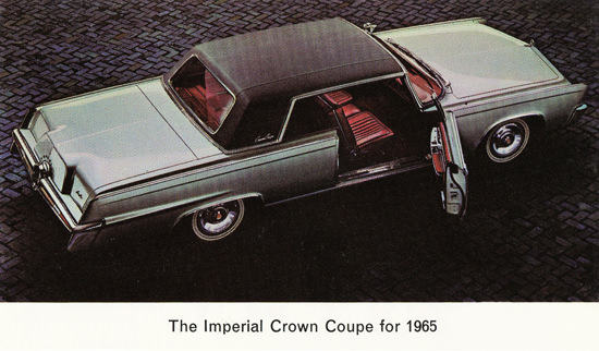 Imperial Crown Coupe 1965 Cobble Sreet | Vintage Cars 1891-1970