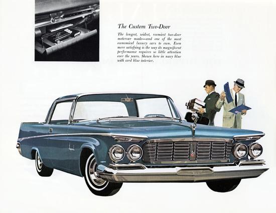 Imperial Custom 1963 Longest Two Door Car   Vintage Cars 1891-1970