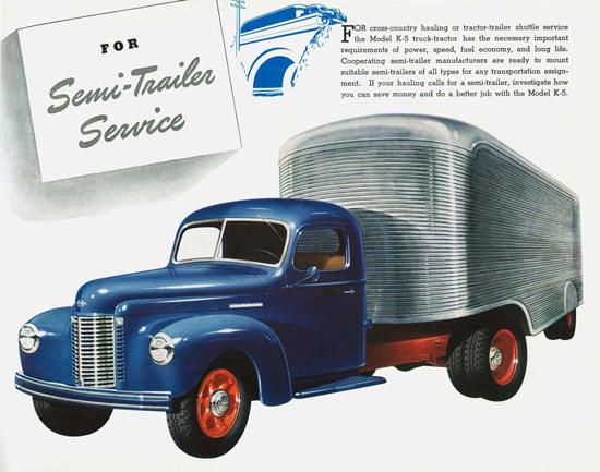 Int Trucks Model K-5 Truck-Tractor 1941 | Vintage Cars 1891-1970