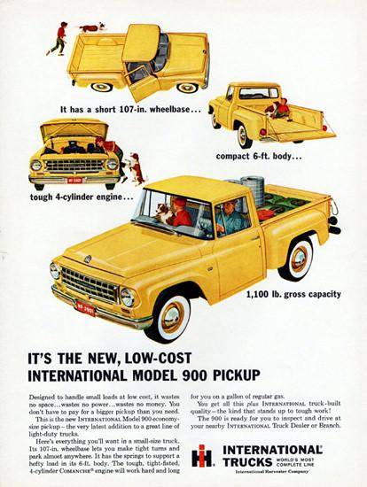 International Model 900 Pickup 1963 Low Cost | Vintage Cars 1891-1970