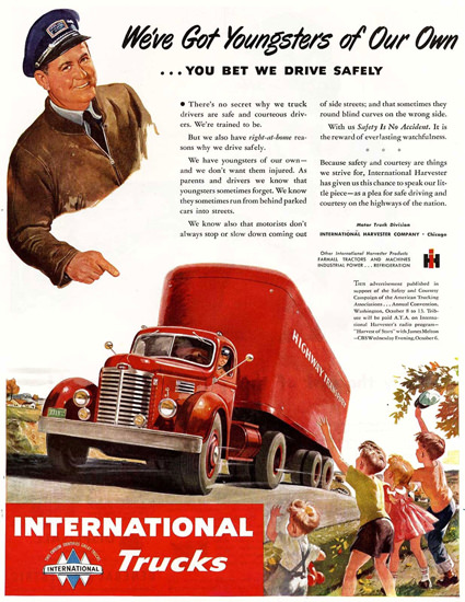International Trucks Harvester Chicago | Vintage Cars 1891-1970