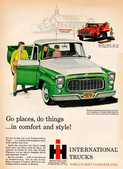 International Trucks Pickup Truck 1960 | Vintage Cars 1891-1970