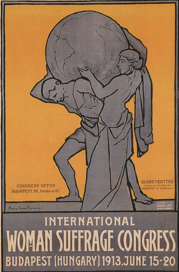 International Woman Suffrage Congress 1913 | Sex Appeal Vintage Ads and Covers 1891-1970