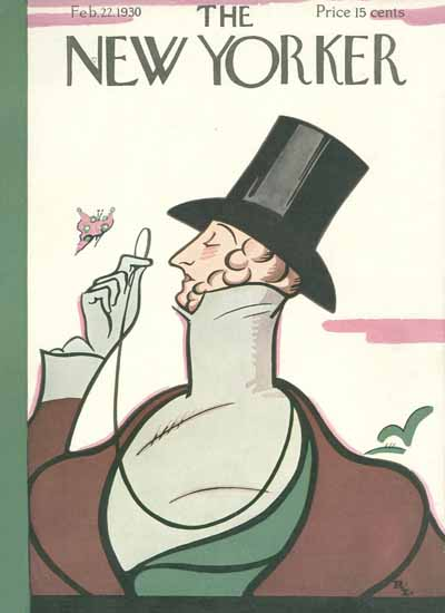 Irvin the Typeface of The New Yorker 1930_02_22 Copyright | The New Yorker Graphic Art Covers 1925-1945