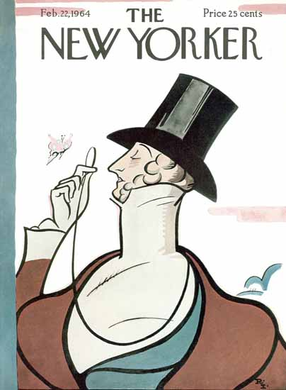 Irvin the Typeface of The New Yorker 1964_02_22 Copyright | The New Yorker Graphic Art Covers 1946-1970