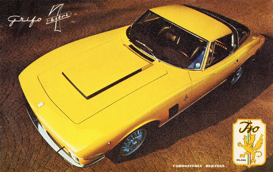 Iso Grifo 7 Litre 1969 Milano Body By Bertone | Vintage Cars 1891-1970