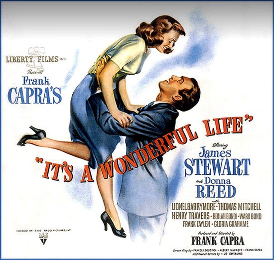 Its A Wonderful Life James Stewart D Reed 1946 | Sex Appeal Vintage Ads and Covers 1891-1970