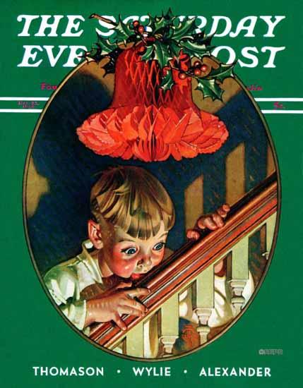 JC Leyendecker Cover Artist Saturday Evening Post 1939_12_23   The Saturday Evening Post Graphic Art Covers 1931-1969