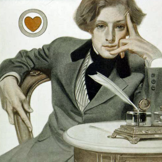 JC Leyendecker Saturday Evening Post 1907_07_20 Copyright crop | Best of Vintage Cover Art 1900-1970
