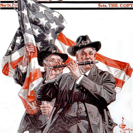 JC Leyendecker Saturday Evening Post 1913_05_24 Copyright crop | Best of Vintage Cover Art 1900-1970