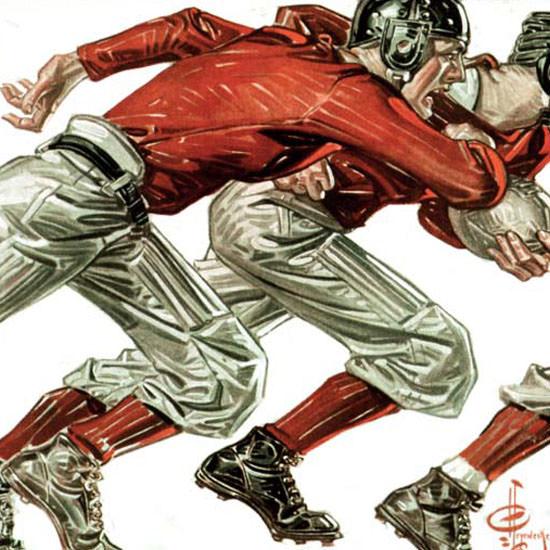 JC Leyendecker Saturday Evening Post 1913_11_15 Copyright crop | Best of Vintage Cover Art 1900-1970