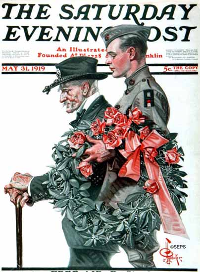 JC Leyendecker Saturday Evening Post 1919_05_31 | The Saturday Evening Post Graphic Art Covers 1892-1930