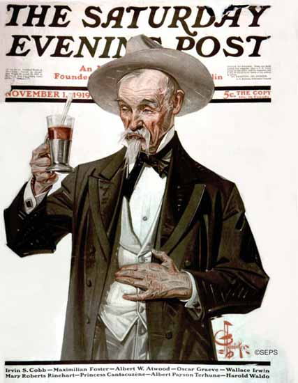 JC Leyendecker Saturday Evening Post 1919_11_01 | The Saturday Evening Post Graphic Art Covers 1892-1930