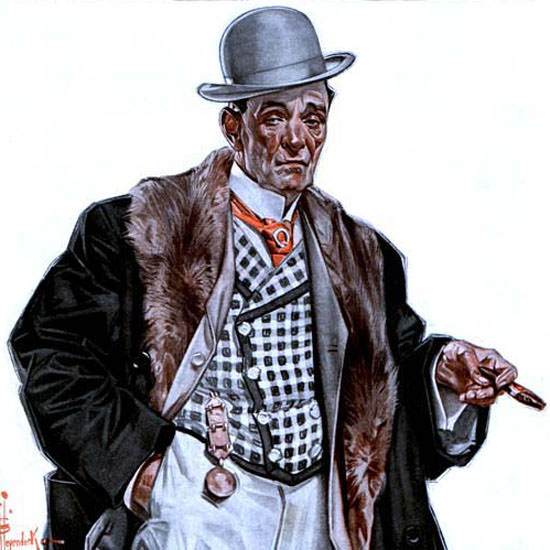 JC Leyendecker Saturday Evening Post 1920_01_24 Copyright crop | Best of 1920s Ad and Cover Art