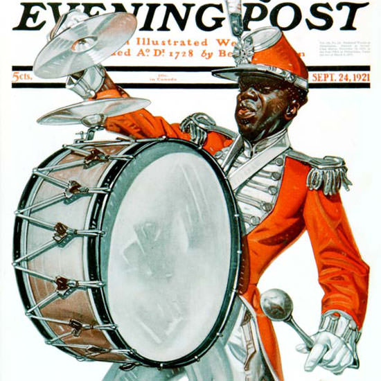 JC Leyendecker Saturday Evening Post 1921_09_24 Copyright crop | Best of Vintage Cover Art 1900-1970