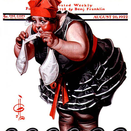 JC Leyendecker Saturday Evening Post 1922_08_26 Copyright crop | Best of 1920s Ad and Cover Art