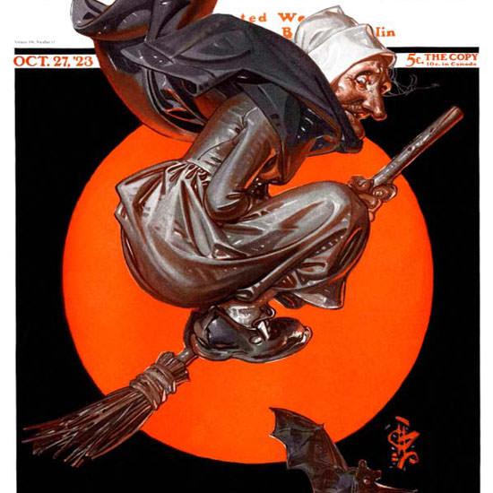 JC Leyendecker Saturday Evening Post 1923_10_27 Copyright crop | Best of Vintage Cover Art 1900-1970