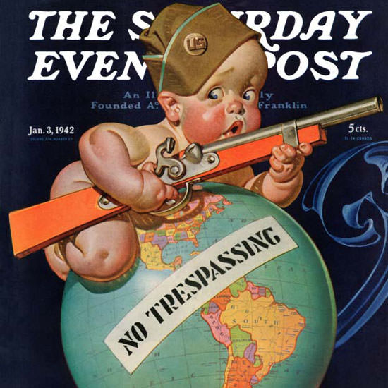 JC Leyendecker Saturday Evening Post No 942_01_03 Copyright crop | Best of Vintage Cover Art 1900-1970
