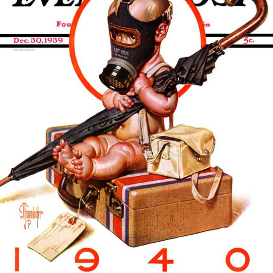 JC Leyendecker Saturday Evening Post Ready 1939_12_30 Copyright crop | Best of 1930s Ad and Cover Art