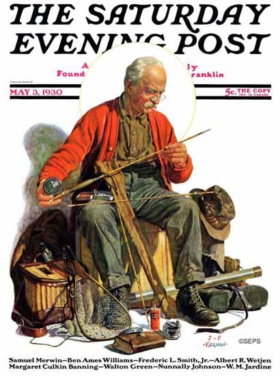 JF Kernan Artist Saturday Evening Post 1930_05_03 | The Saturday Evening Post Graphic Art Covers 1892-1930